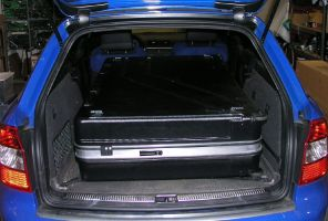 loading into Audi A4