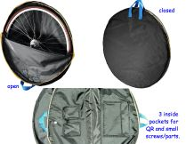 padded wheel guard bags