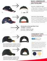 german 2006 basic caps