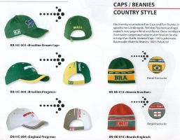 country caps 2006 WC FIFA